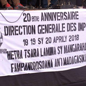 Faha 20 taonan'ny Direction Générale des Impôts teto amin'ny Faritra Matsiatra Ambony
