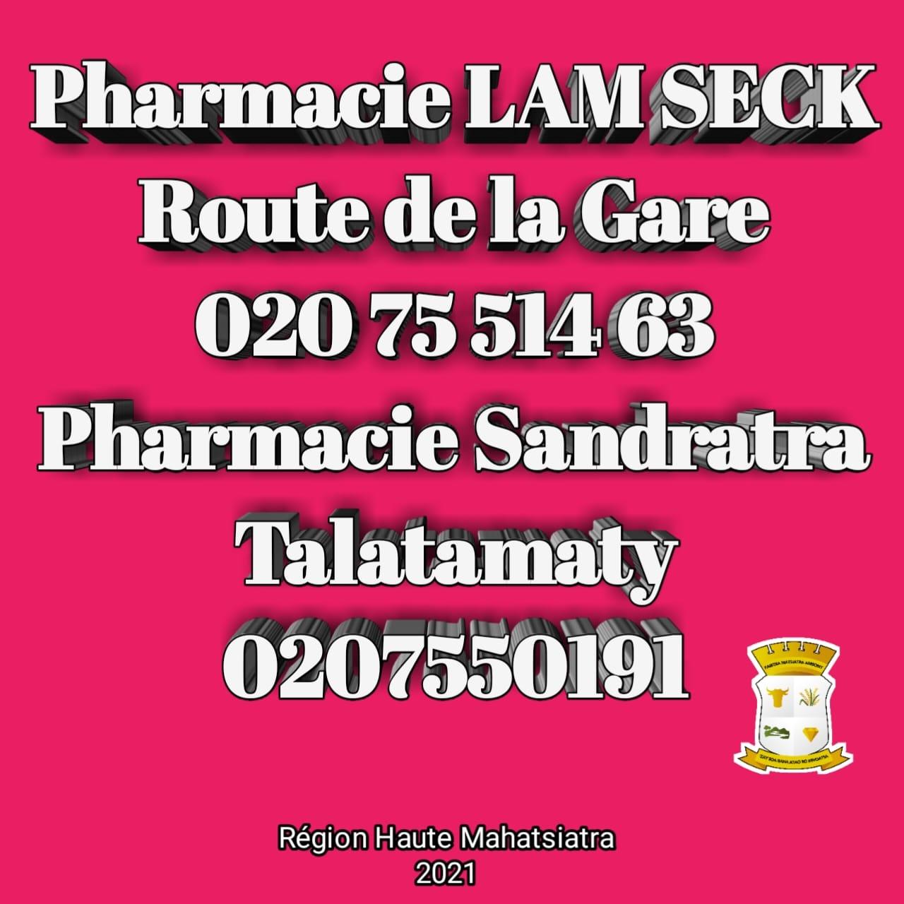 Pharmacie de garde jusqu'au 19 juin 2021
